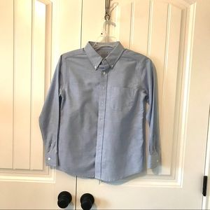 boys light blue long sleeve button down